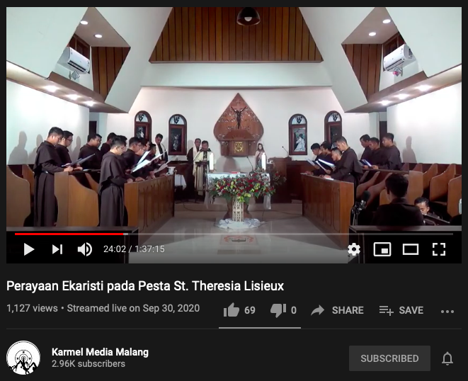 Pesta St. Theresia Lisieux