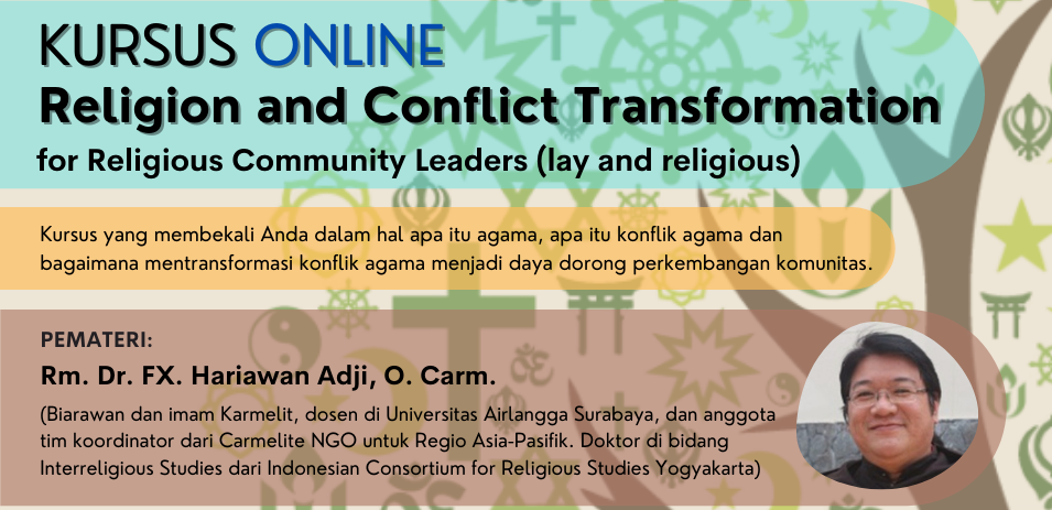 "Kursus ""Religion and Conflict Transformation"""