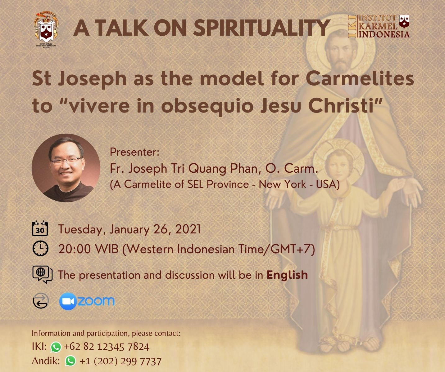 A Talk on Spirituality – Edisi Januari 2021
