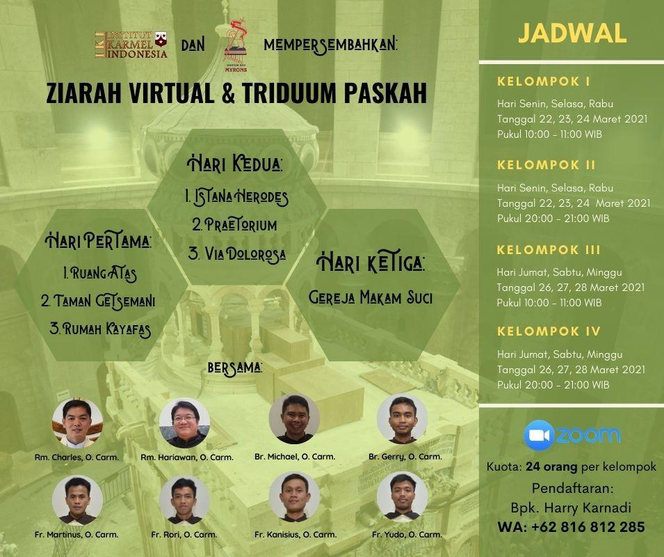 Ziarah Virtual & Triduum Paskah