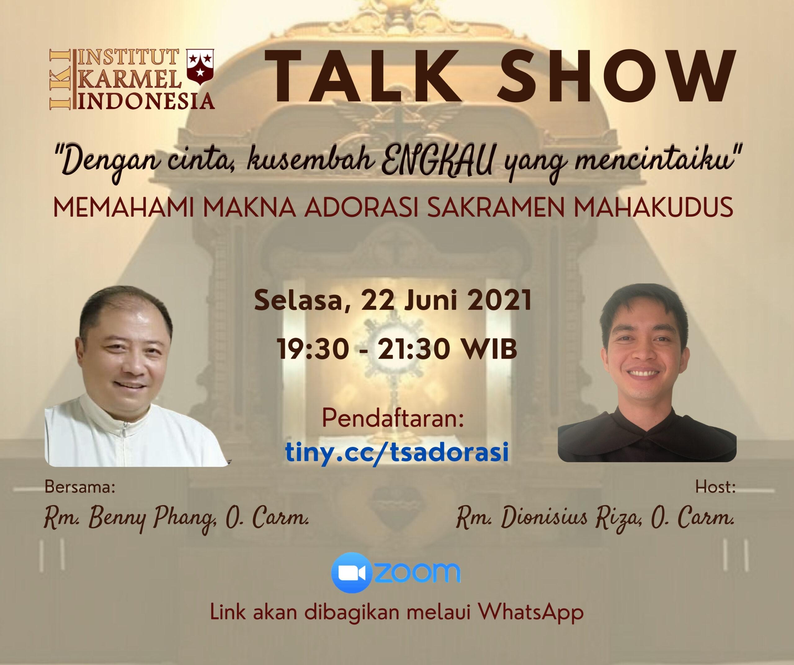 Talk Show Adorasi